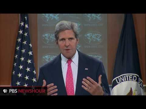 Secretary of State John Kerry: Use of Chemical Weapons in Syria 'Undeniable'