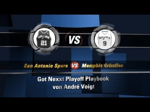 Playoff Playbook #1: Spurs vs. Grizzlies