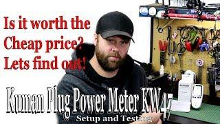 Kuman Plug Power Meter KW47 Setup and Testing