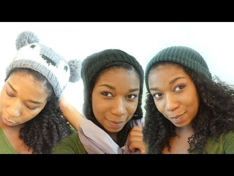 Different Ways to Wear Your Beanie Hat with Natural Hair