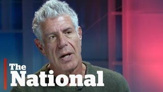 Anthony Bourdain on food, travel and politics