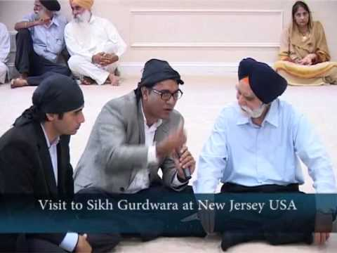 Visit to Sikh Gurdwara New Jersey USA