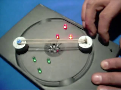 Experimentos de Física : MINI GENERADOR DE CORRIENTE CONTINUA -- www.tallerdefisica.tk