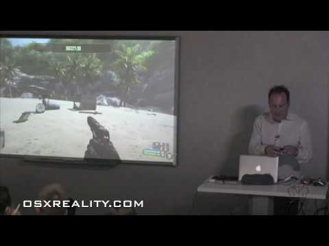 OnLive Demo: Playing Crysis on iPhone