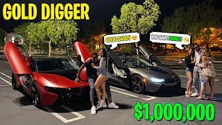 THE Billionaire RICH FAMILY GOLD DIGGER EXPERIMENT! ALL 3 OF THEM WANTED US!