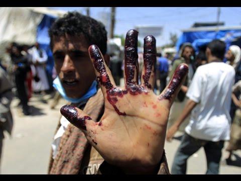 Clashes in Yemen capital between Shiite rebels and Sunni militiamen kill at least 4 civilians