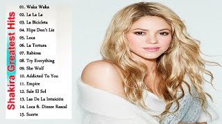 Shakira Greatest Hits Album 2017 || Shakira Songs Collection [Cover Of Me]