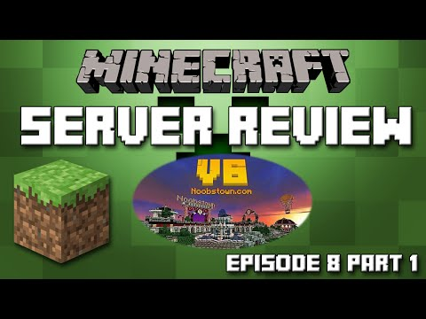 Minecraft Server Reviews - NoobsTown - Towny. McMMO. MiniGames. Grief Free