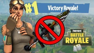 WINNING In Fortnite With NO GUNS Challenge!