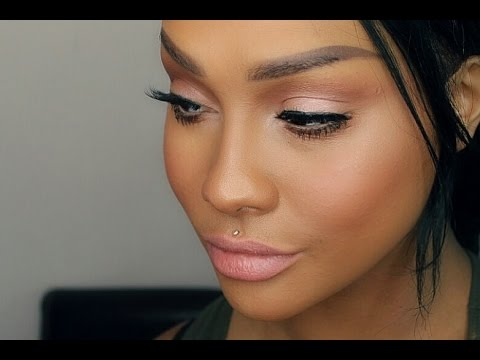NATURAL PINK MAKEUP TUTORIAL BRIDAL & PROM - SONJDRADELUXE