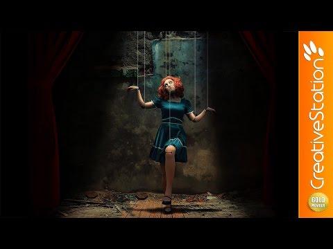 Dark Doll - Speed art  (#Photoshop) | CreativeStation GM