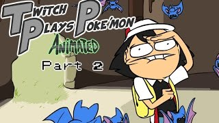 Twitch Plays Pokémon animated (2) GUYS WE NEED TO BEAT MISTY!