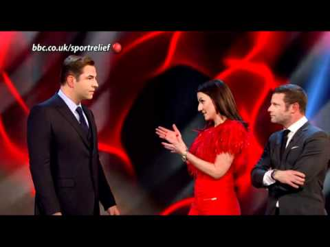 David Walliams on Sport Relief 2012