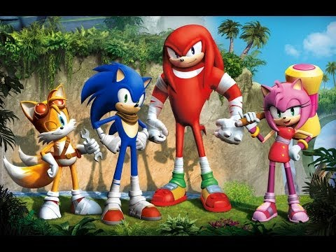 Meet The New Sonic The Hedgehog For 2014! video