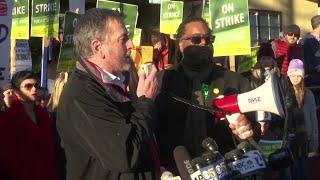 Oakland teachers on strike, demand big pay raises