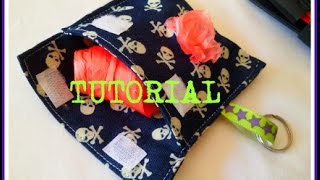 DOG BAG DISPENSER -TUTORIAL CUCITO CREATIVO