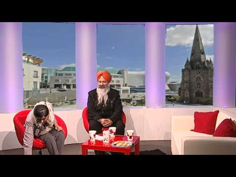 Sikh Channel Breakfast show 18/03/13