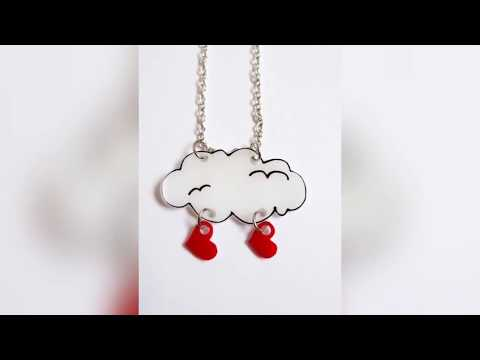 Top Stylish Pendant Necklace Designs For young Girls Collection 2018 - 240 - For all women