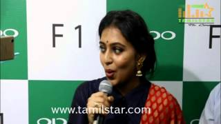 Lakshmi Menon Launches Oppo Mobile Show Room