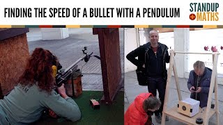 How fast is a bullet? [featuring: pendulum calculation]