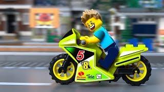 LEGO Мультик- Приключения Байкера ⛔️ Новые Серии для детей про ЛЕГО