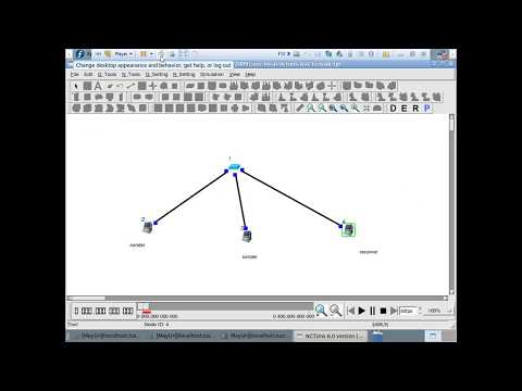 Computer Network Laboratory (VTU) - first simulation