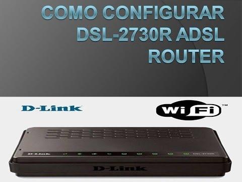 Como configurar DSL-2730R ADSL Router
