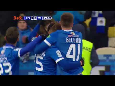 Динамо - Ворскла - 3:0. Гол: Цыганков (60')