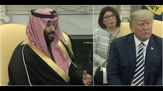 Saudi Crown Prince Mohammad bin Salman SHOCKS President Donald Trump at White House Meeting