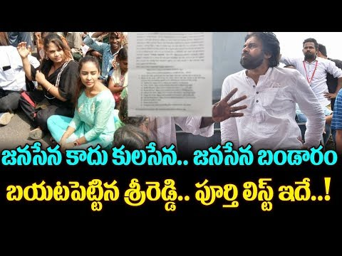 Sri Reddy Shocking Comments On Pawan Kalyan Janasena | Sri Reddy Vs Pawan kalyan | Top Telugu Media