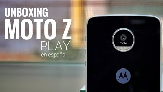Moto Z Play: Unboxing.