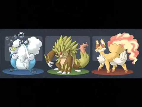 Pokemon X & Y (GEN 6) Starters and Evolutions?