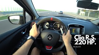 Renault Clio R.S. Trophy 220 HP | 4K POV Test Drive #108 Joe Black