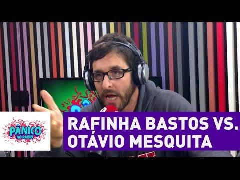 Otávio Mesquita discute com Rafinha Bastos no Pânico