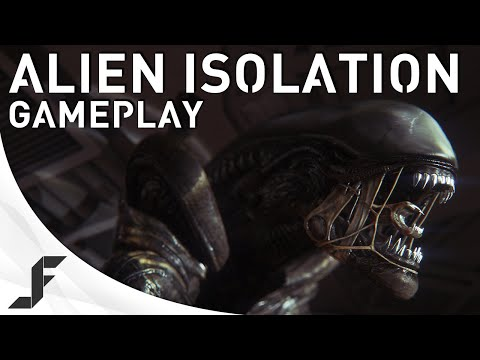 Alien Isolation Gameplay - Jack is Hunted!