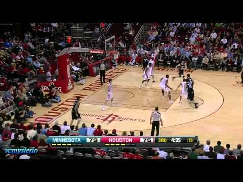 Michael Beasley 34pts vs Rockets (01.30.2012)