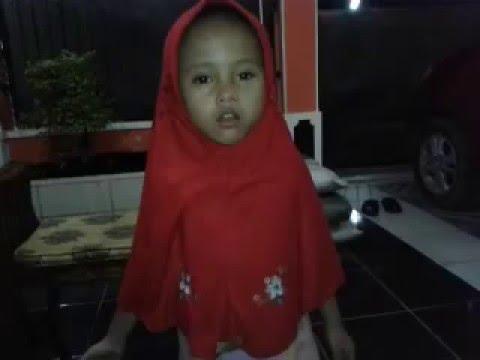Kakak Najwa Sajidah Belajar Menghafal