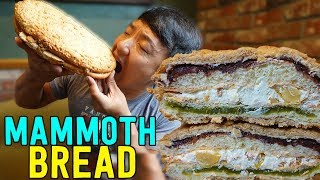 MAMMOTH BREAD! Korean Bakery Tour of Seoul South Korea