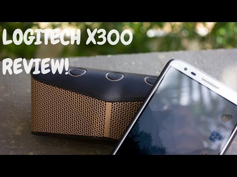 Logitech X300 Bluetooth Speaker Review