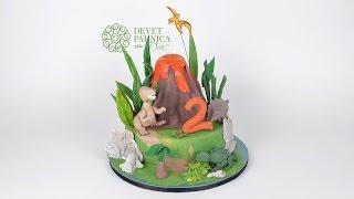 Rodjendanske torte viyoutube torta sa dinosaurusima thecheapjerseys Choice Image