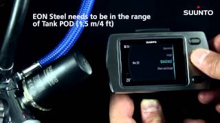 Suunto EON Steel How to pair with Suunto Tank POD