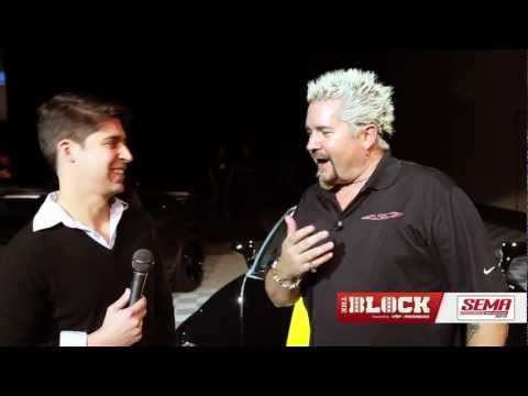 Guy Fieri Corvette 427 Convertible Concept -- SEMA 2012