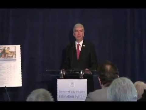 Gov. Rick Snyder's education reform plan
