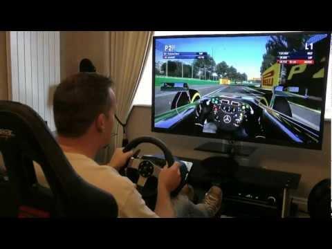 F1 2012 G27 Playseat PS3 XBOX 360 HD