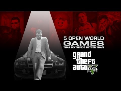 5 Open World Games That Do Things Better Than GTA V