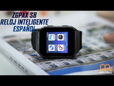 ZGPAX S8 Reloj Inteligente o Smartwatch Review Epañol