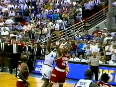 Robert Horry (19pts/8rebs/3stls/5blks/4threes) vs. Magic ('95 Finals, Game 1)