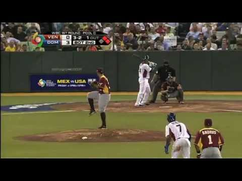 World Baseball Classic Venezuela vs Republica Dominicana