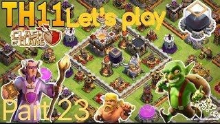 Clash Of Clans TH11 Let's Play part 23: Unlocking The 6th Builder Hut