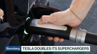 Tesla Doubles Number of Superchargers Available to Public